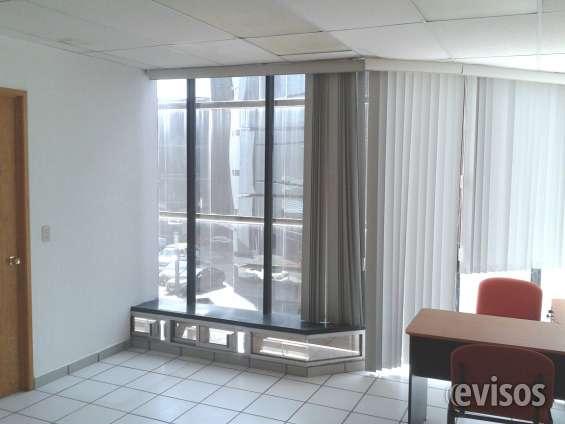 Oficinas amuebladas, con los mejores servicios y excelente ubicación..
