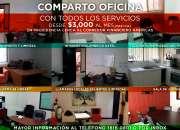 Comparto oficinas, zona Providencia.