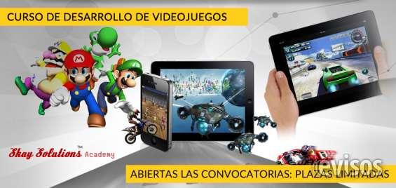 Curso de desarrollo de videojuegos