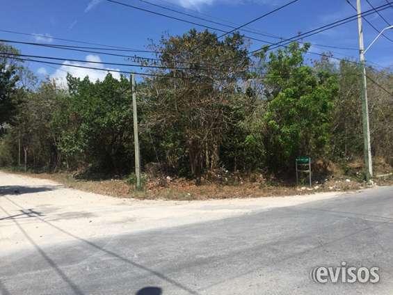 Terreno residencial en venta, cancun