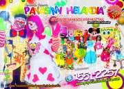 Payasitos los primos para tu fiesta - df/edomex