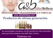 Productos de mesoterapia y estética de última generación