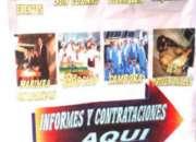 CONTRATACIONES DE GRUPOS MUSICALES ESTELARIS TEL:63-12-12-04