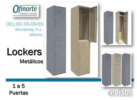 Casilleros (lockers) metálicos nuevos en venta