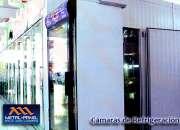 Fabricacion de camaras de refrigeracion Tijuana