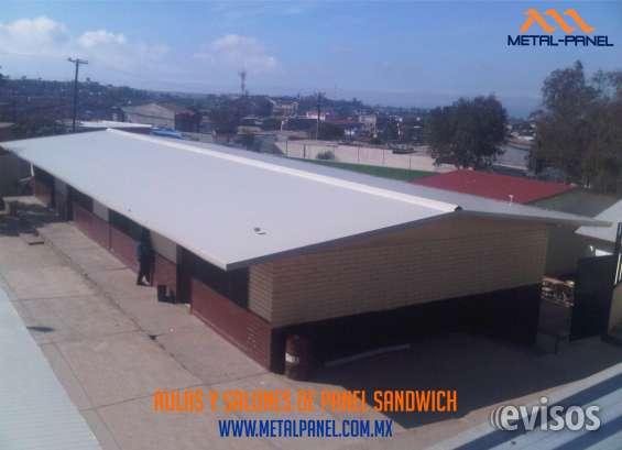 Aulas y salones escolares de panel sandwich tijuana
