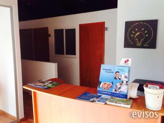 Renta oficina física amueblada en providencia!