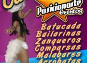 Shows para Carnaval: Batucada, zanqueros, bailarinas, comparsas, malabares, acróbatas