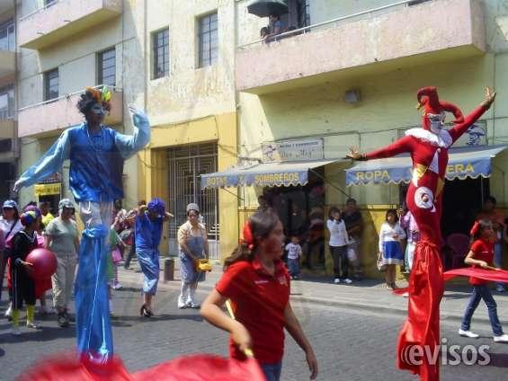 Zanqueros para carnaval y desfiles
