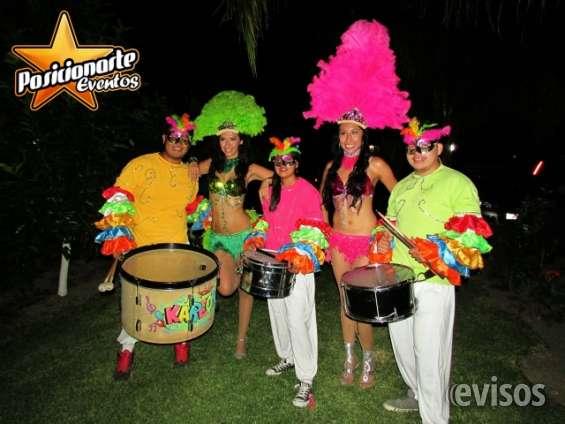 Batucada para carnaval y desfiles