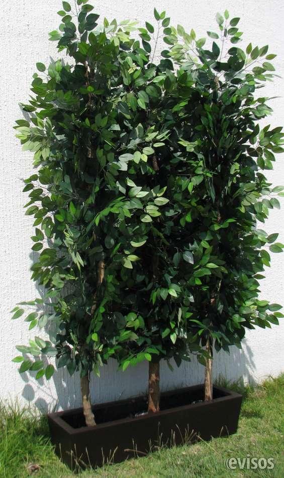 Plantas artificiales diseño y fabricacion uso interior y exterior