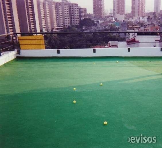 Pasto sintetico residencial y deportivo