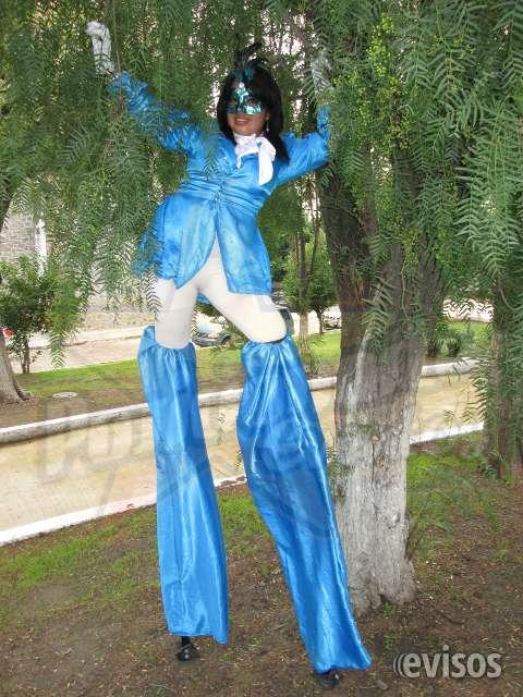 Show de zanqueros: carnaval, eventos, desfiles