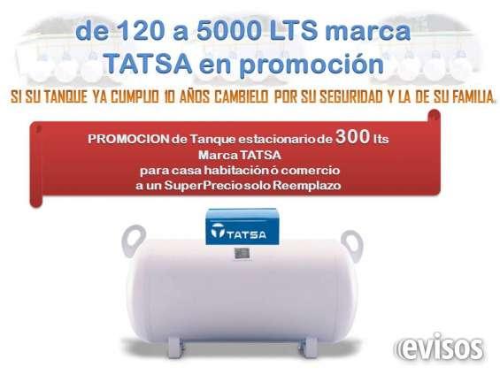 Tanque estacionario de 300 litros en ecatepec tel,62959286
