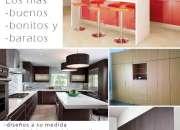 Fabricación de cocinas y closets