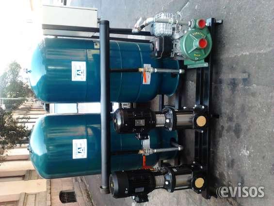 Hidroneumaticos, presurizadores para calentadores,bombas de agua