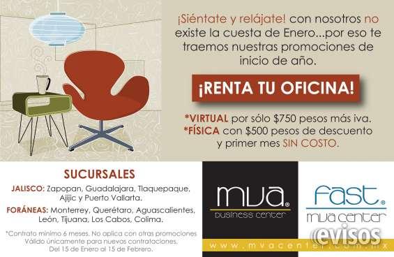Excelentes oficinas virtuales en ciudad del sol