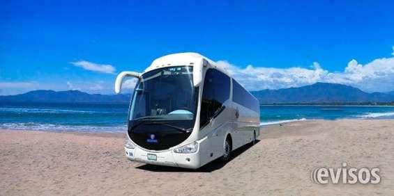 Renta de autobuses turisticos