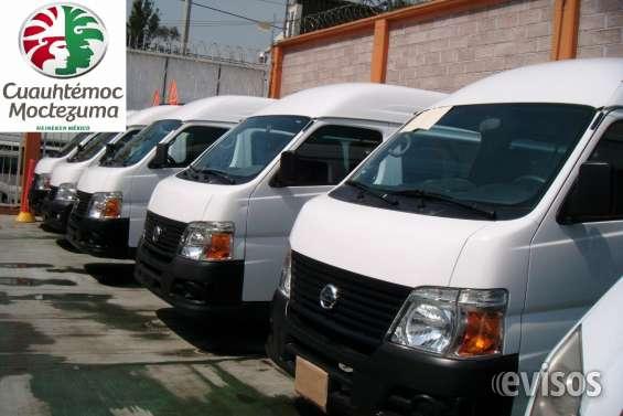 Nissan urvan 2013 venta inmediata