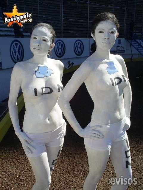 Body paint para eventos