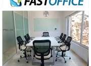 Oficina en Providencia DISPONIBLE PARA 3 PERSONAS AMUEBLADA