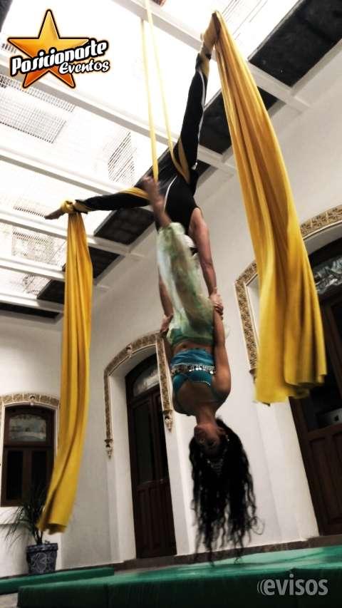 Show de danza aérea para eventos
