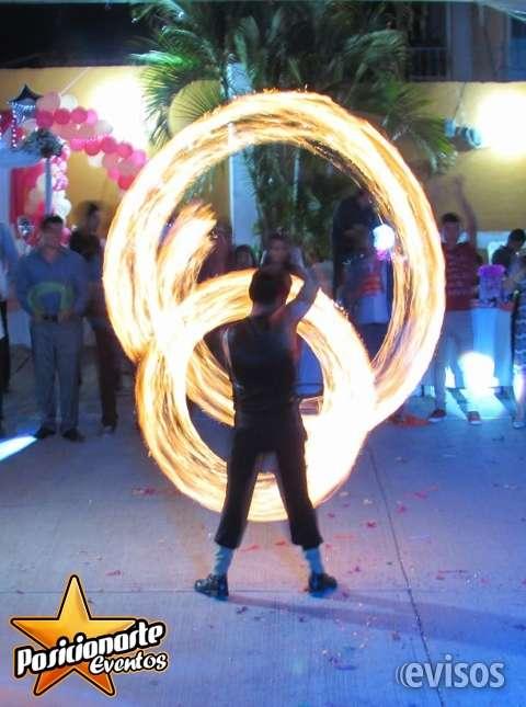 Show de fuego para eventos