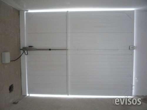 Puertas de garaje reparaciones urgentes e instalacion de equipos