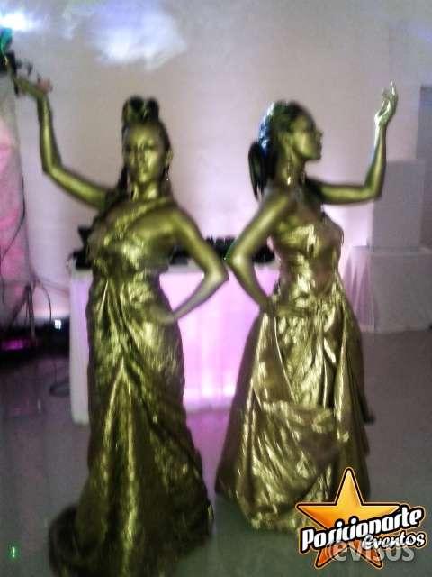Estatuas vivientes para eventos