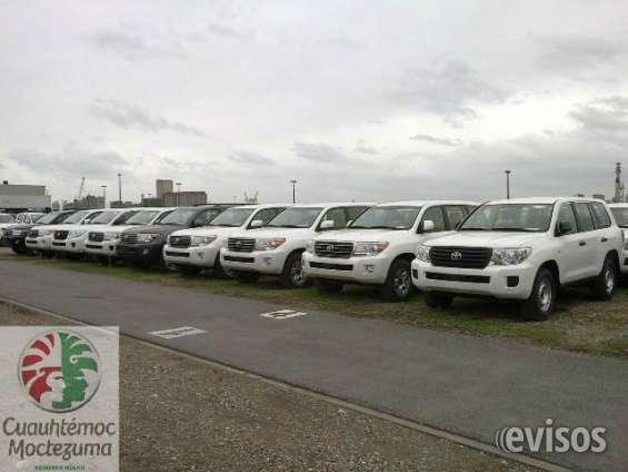 Atencion gran remate de unidades toyota land cruiser 2014