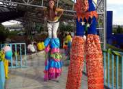Zanqueros, zancos show: eventos y fiestas