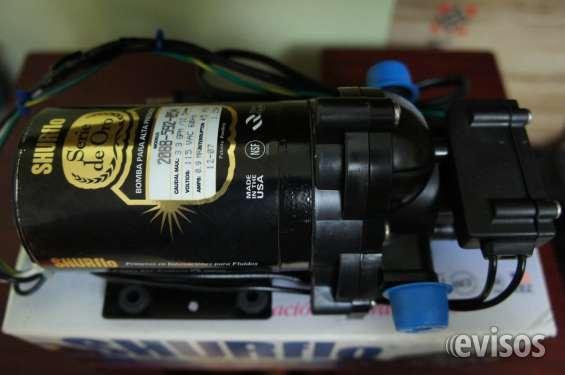 Distribuidor en mexico de bombas shurflo serie de oro y 12 volts 5510-2991