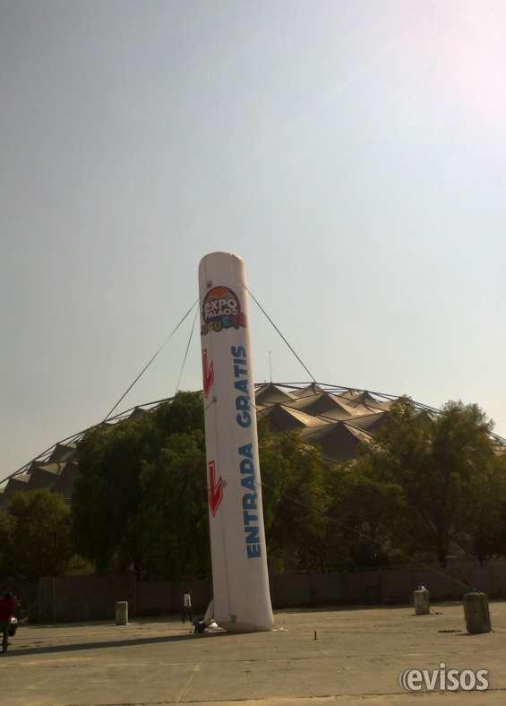 Totem personalizado gigante inflable publictario