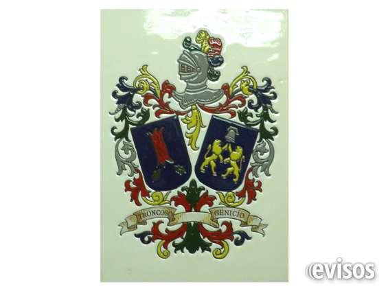 Heraldicos,logotipos ,escudos y fotos en azulejo para intemperie