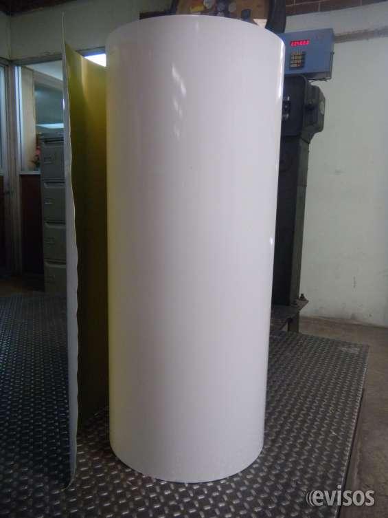 Rollo de lamina de aluminio blanco wash (cobalbo)