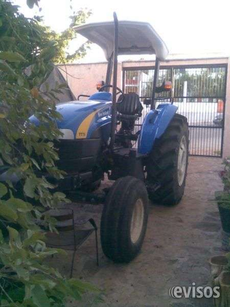 Impecable tractor seminuevo new holland 2012