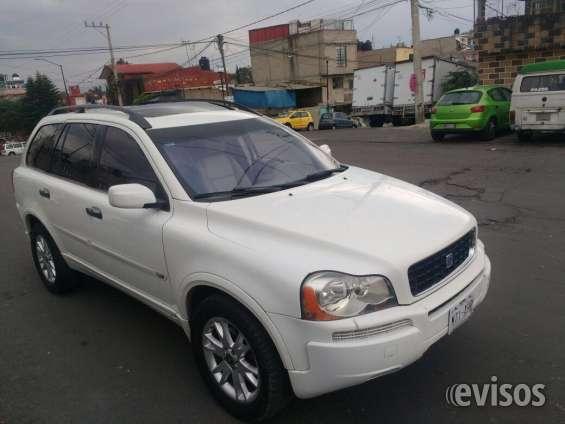 Volvo xc90 asientos de piel adatibles, turbo t6