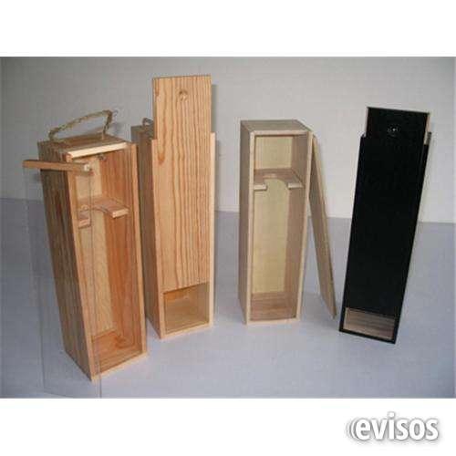 Estuches de madera a la medida
