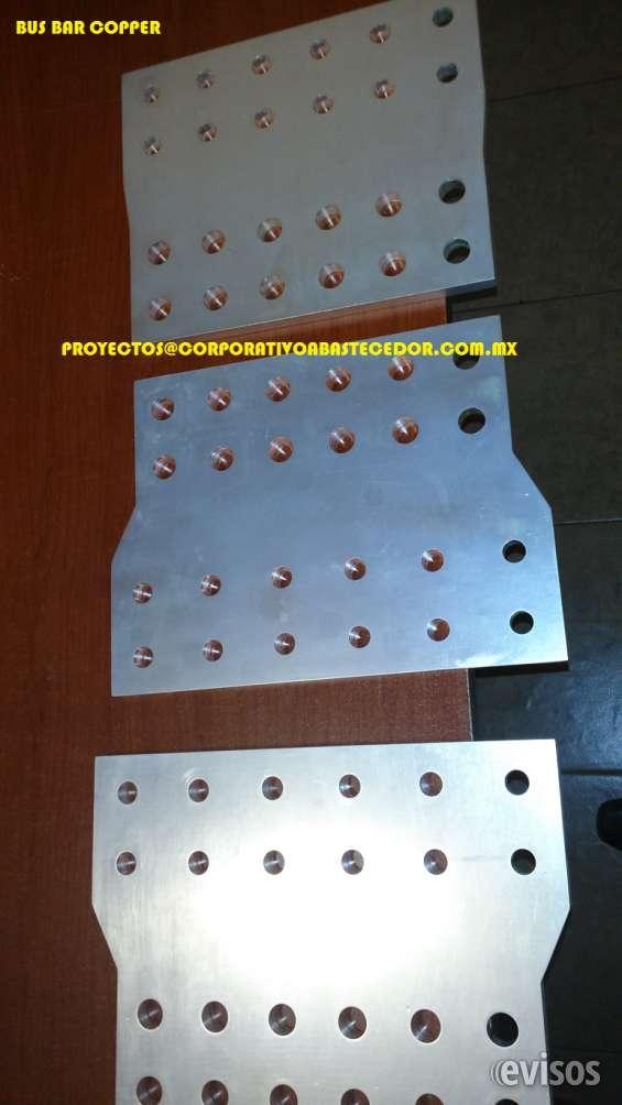 Plateado de piezas de cobre