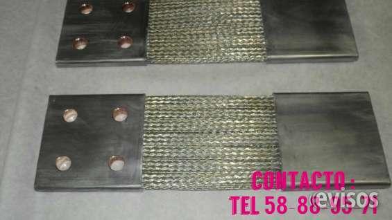 Conectores de trenza de cobre