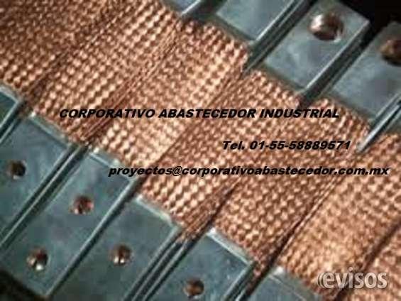 Trenzas de cobre 1200 ampers