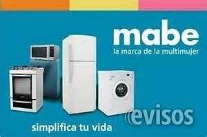 Servicio tecnico especializado lavadoras mabe