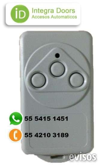 Controles remoto para puerta automatica beninca