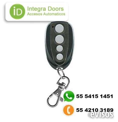 Controles remoto para puerta automaticas