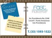 RENTA DE OFICINAS EJECUTIVAS ZONA FINANCIERA PLAZA AMAZONAS