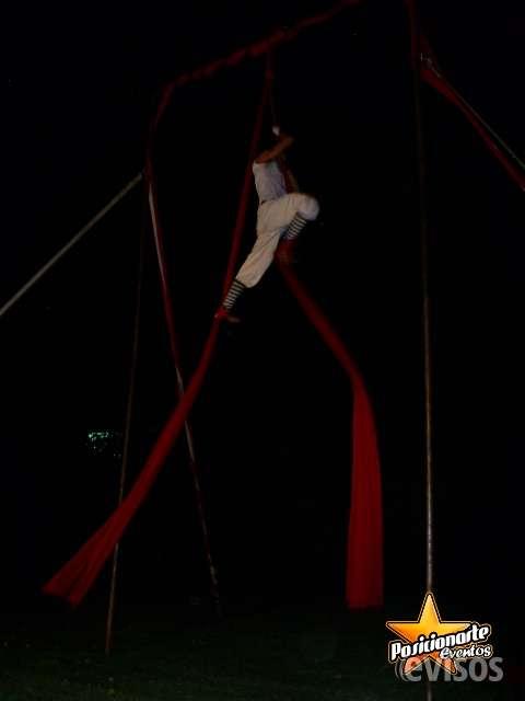 Danza aérea: show para graduaciones en ciudad de méxico