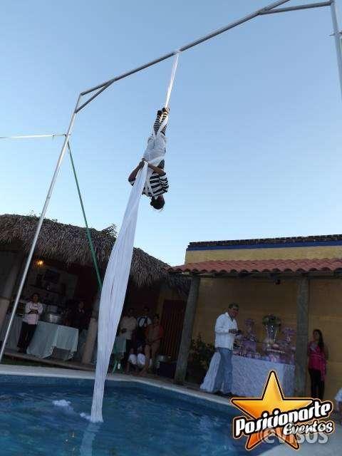 Danza aérea, show de danza aérea para eventos y fiestas
