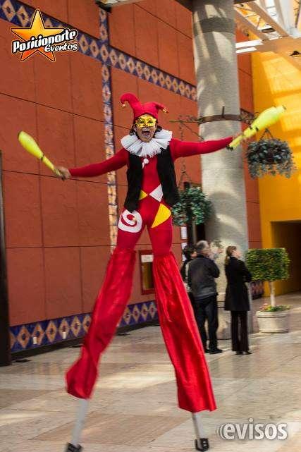 Show para graduaciones en ciudad de méxico: zanqueros