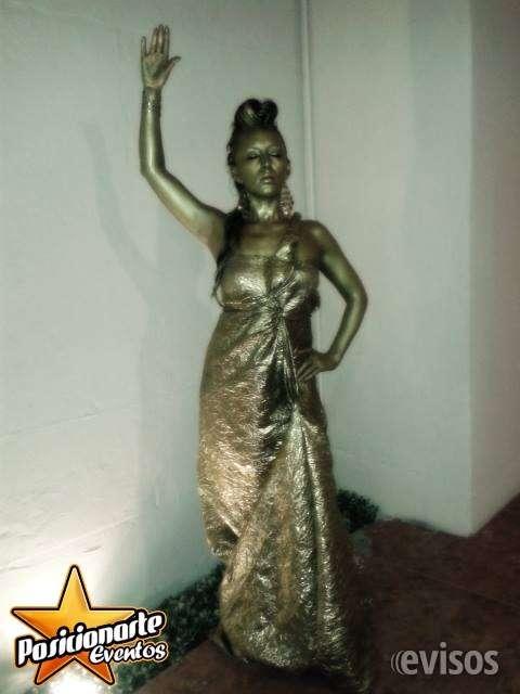 Estatuas vivientes para eventos en ciudad de méxico