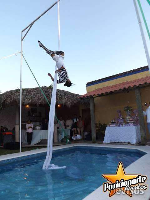 Danza aérea, shows de danza aérea: eventos y fiestas